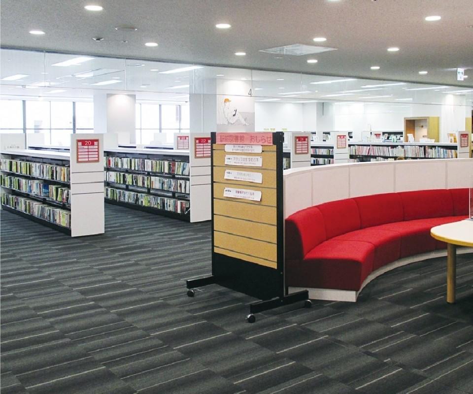 carrel駅前図書館